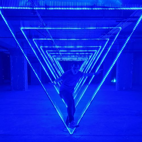The World of Light exhibit shines in Downtown Los Angeles