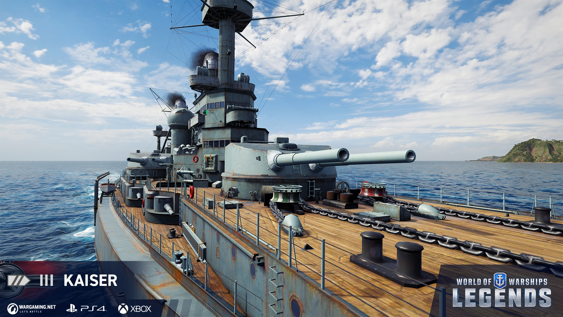 World of Warships Legends Kaiser
