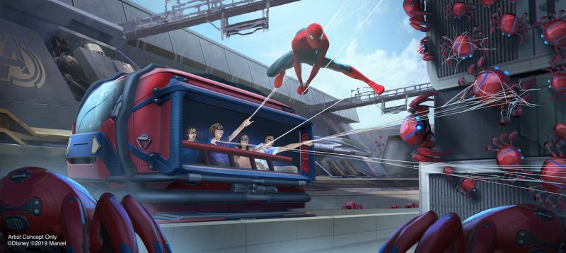 Avengers Campus - Spider-Man experience Web Slingers: A Spider-Man Adventure