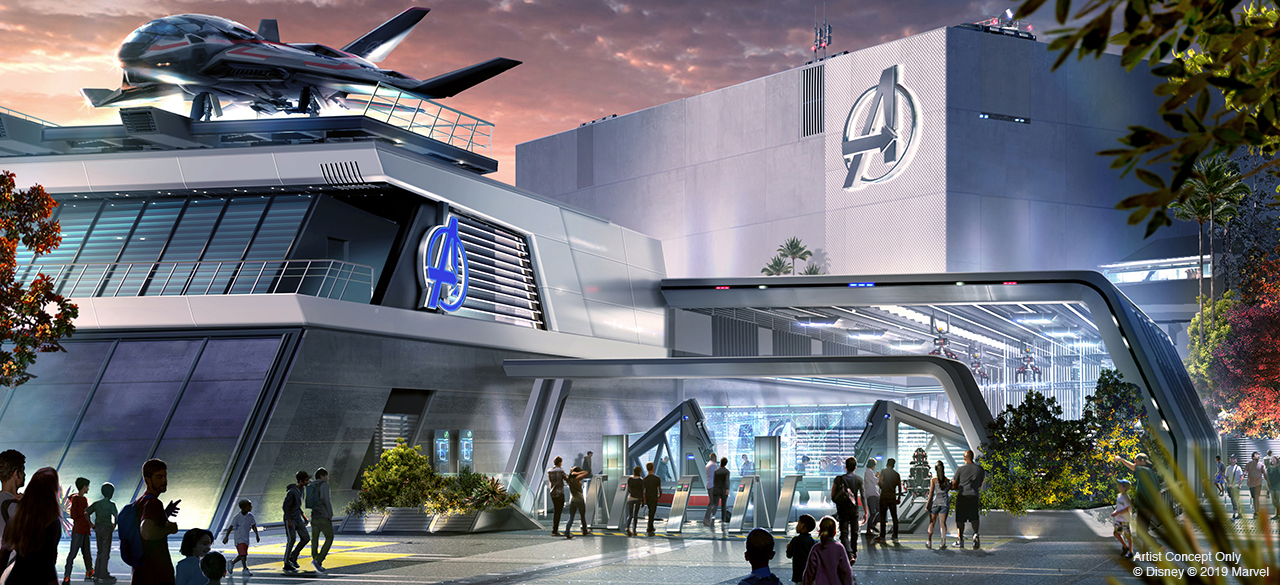Avengers Campus - Avengers ride