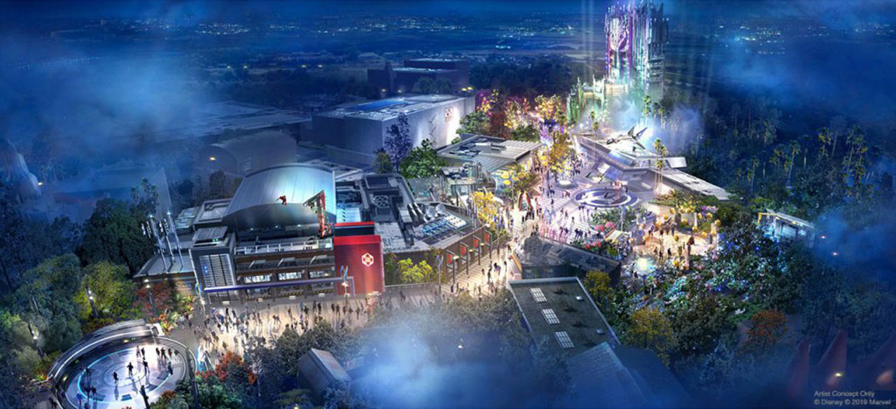 d23 expo  details emerge for avengers campus at disney u0026 39 s