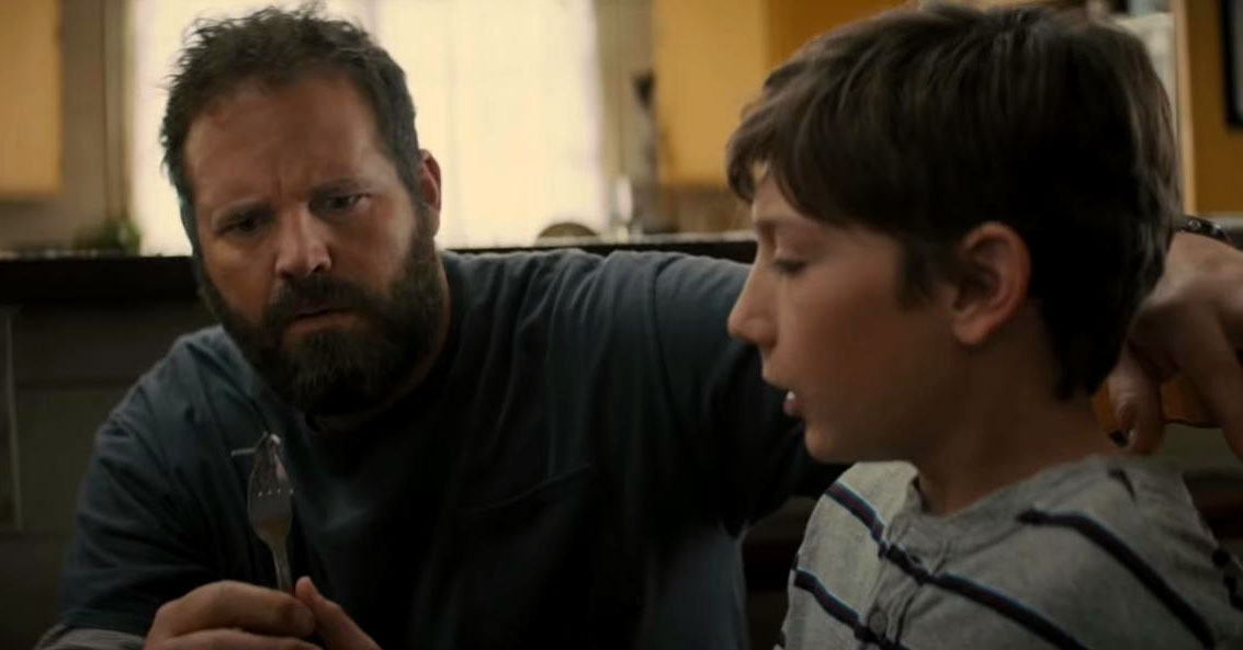 Brightburn - David Denman and Jackson A. Dunn