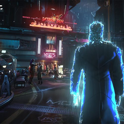 Gamedec is a cyberpunk RPG where you solve crimes done in virtual game worlds