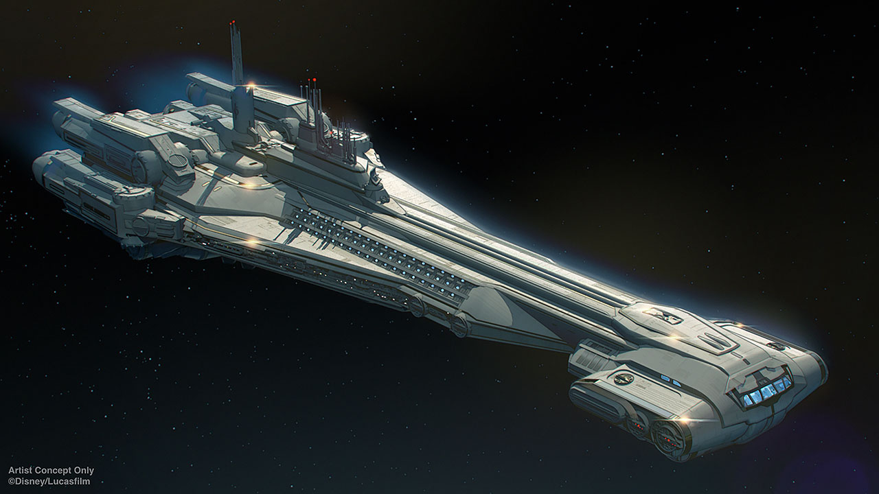 Star Wars: Galactic Starcruiser - The Halcyon
