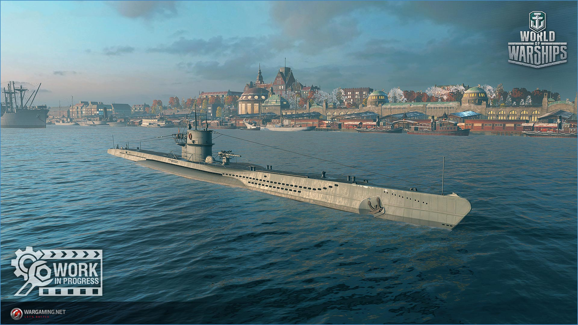 world of warships _SPB_WoWs_sub_port_germany