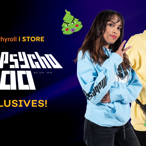 Crunchyroll's latest streetwear brand features Mob Psycho 100