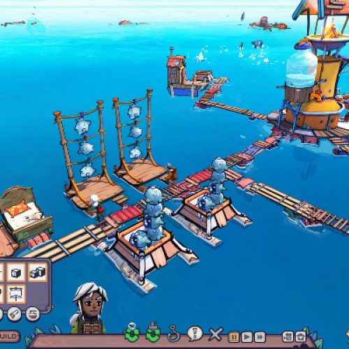 Post-apocalyptic ocean survival game, Flotsam, now available for Early Access
