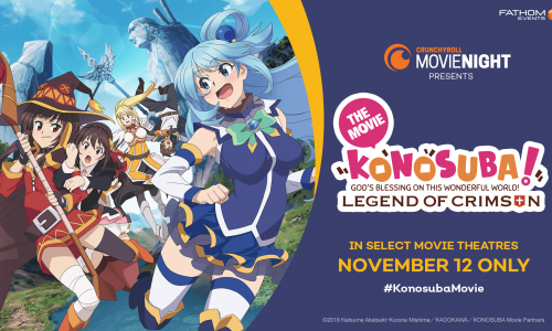 Konosuba! Legend of Crimson's U.S. theatrical premiere to debut November 12