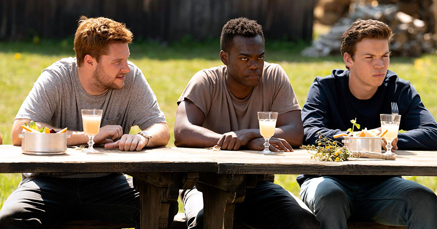 Midsommar - Jack Reynor, William Jackson Harper, and Will Poulter
