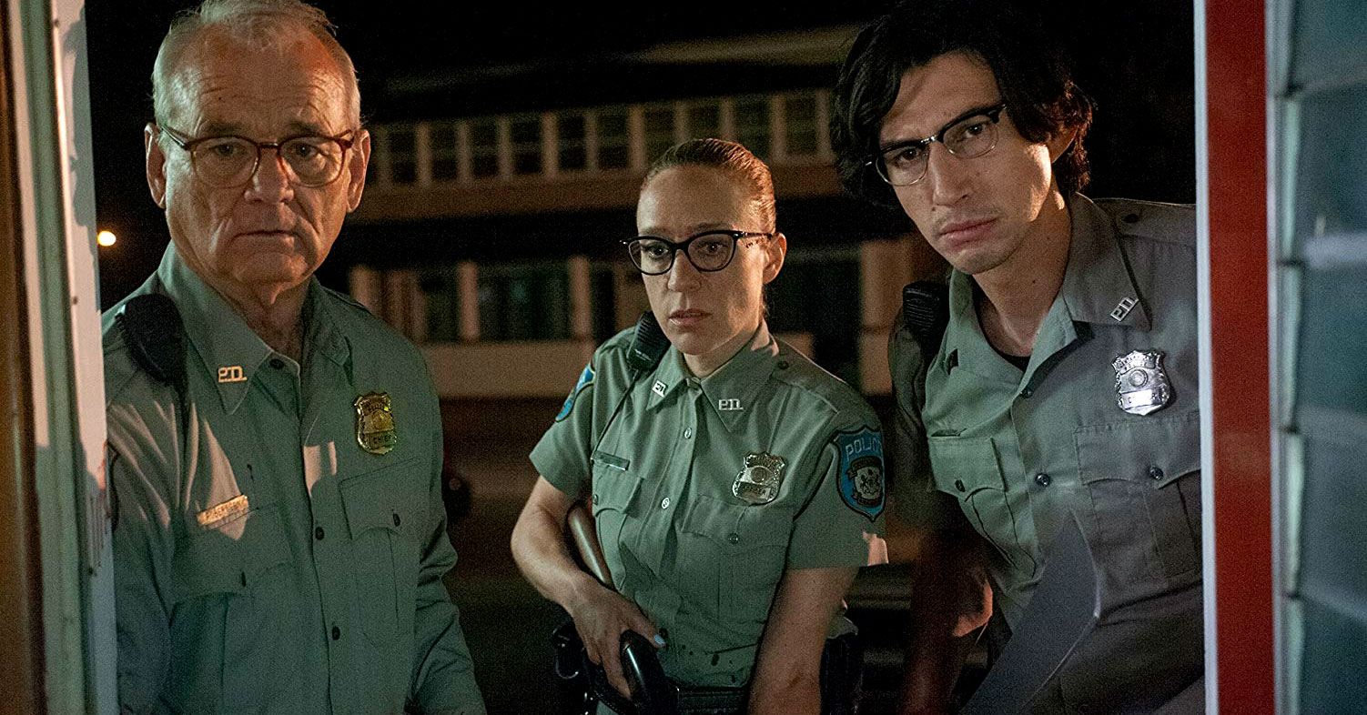The Dead Don't Die - Bill Murray, Chloe Sevigny, and Adam Driver