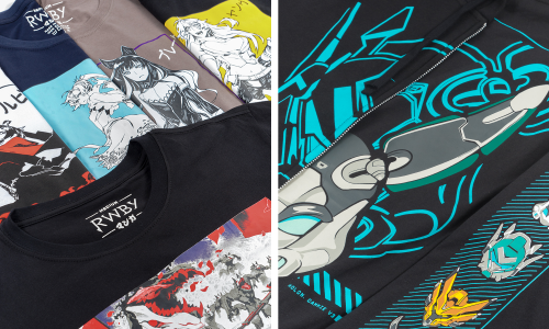 Crunchyroll Loves collaborates with Rooster Teeth for latest collection