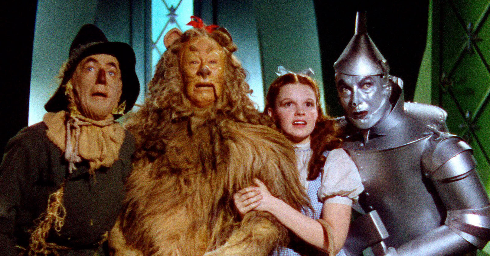 The Wizard of Oz - Ray Bolger, Bert Lahr, Jud Garland, and Jack Haley