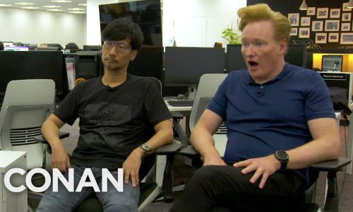 Conan O'Brien visits Hideo Kojima for Death Stranding