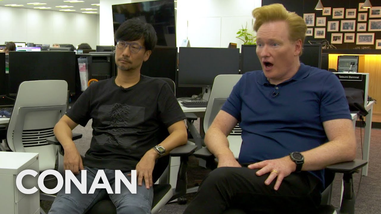 Conan O'Brien Hideo Kojima Death Stranding