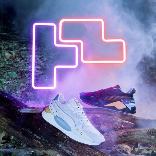 Tetris to get the Puma shoes treatment