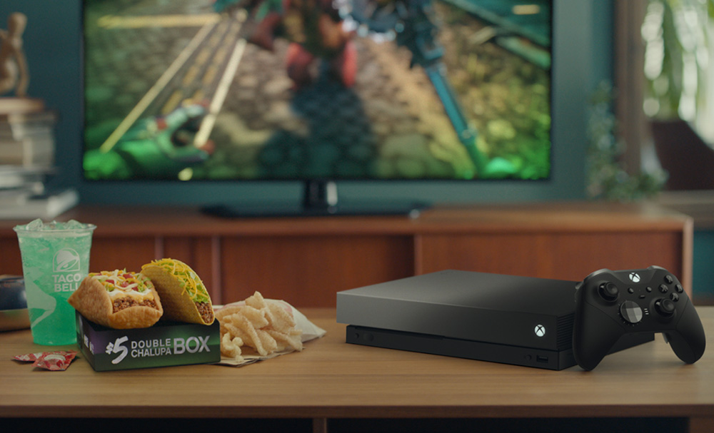 Taco Bell + Xbox One X Eclipse Limited Edition Bundle