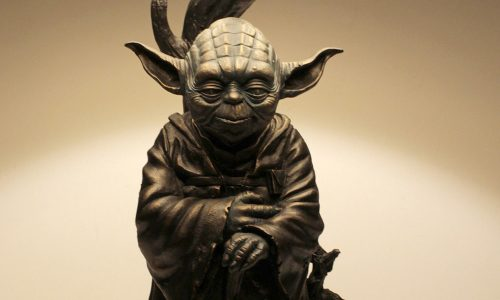Exclusive Yoda Lamp from Cracked Earth Studios