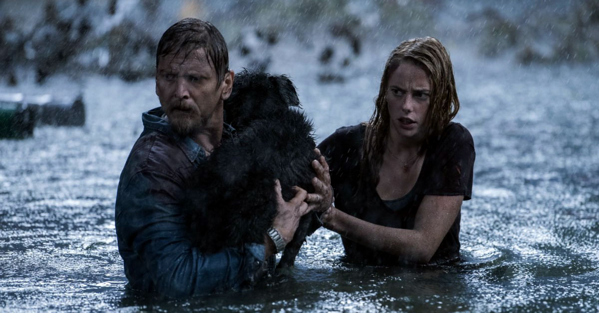 Crawl - Barry Pepper and Kaya Scodelario