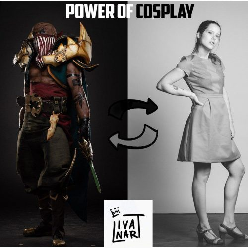 French cosplayer kicked from EuroCosplay due to League of Legends' Pyke cosplay
