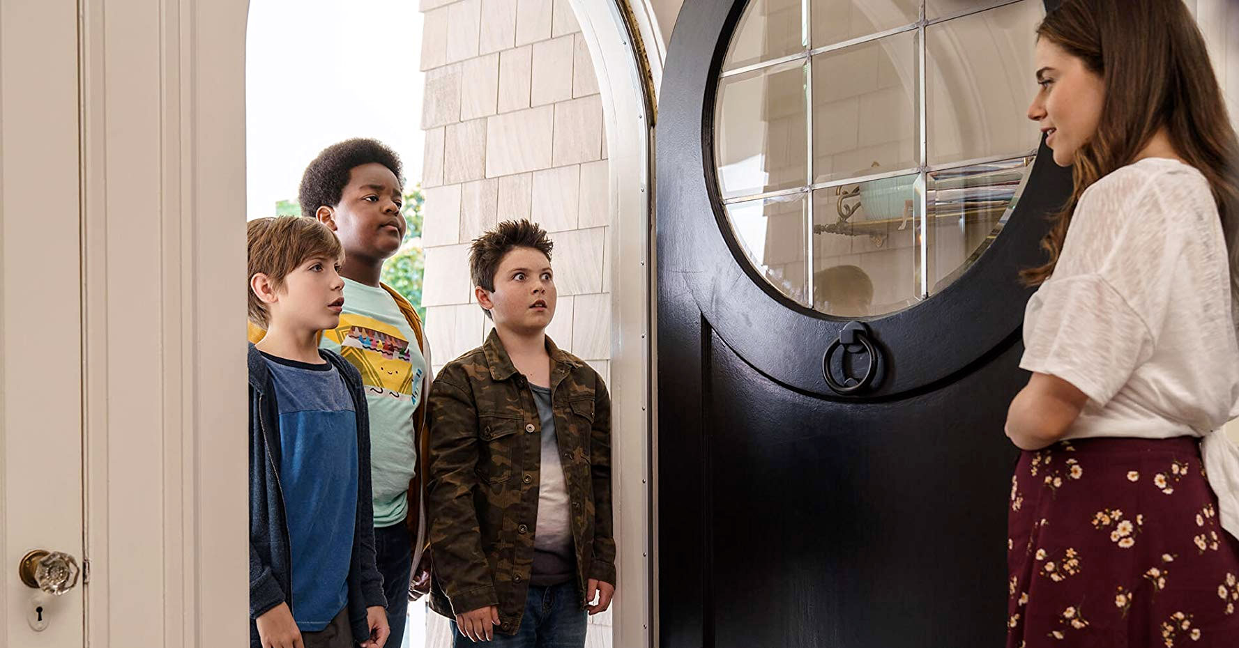 Good Boys - Jacob Tremblay, Keith Williams, Brady Noon, and Molly Gordon