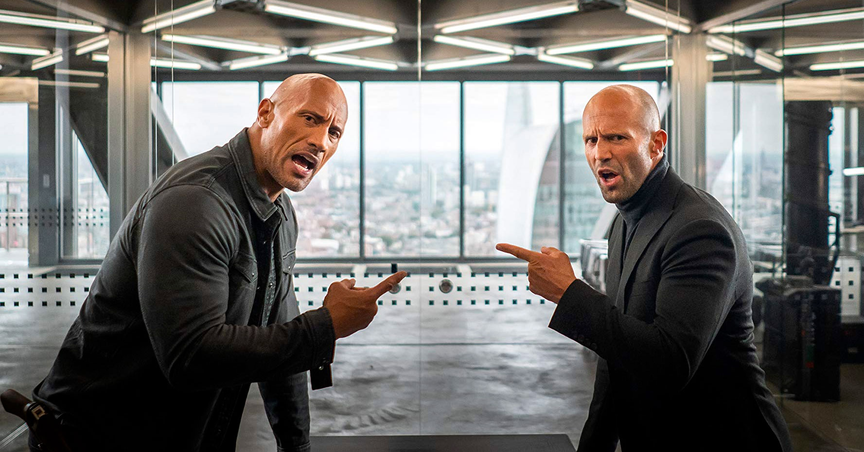 Hobbs & Shaw - Dwayne Johnson and Jason Statham