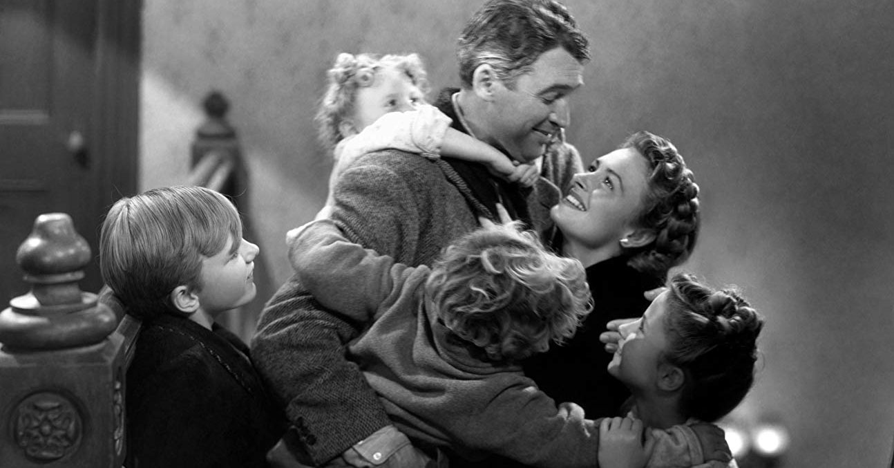 It's a Wonderful Life - James Stewart and Donna Reed