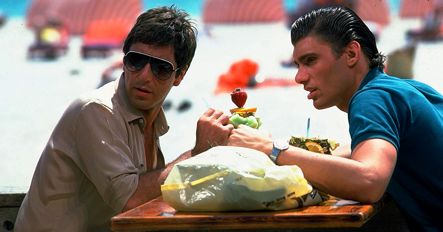 Scarface - Al Pacino and Steven Bauer