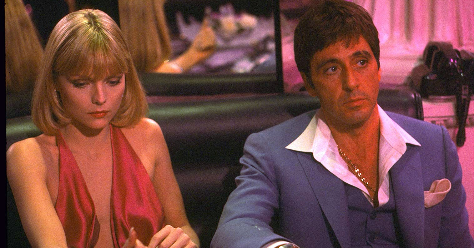 Scarface - Michelle Pfeiffer and Al Pacino