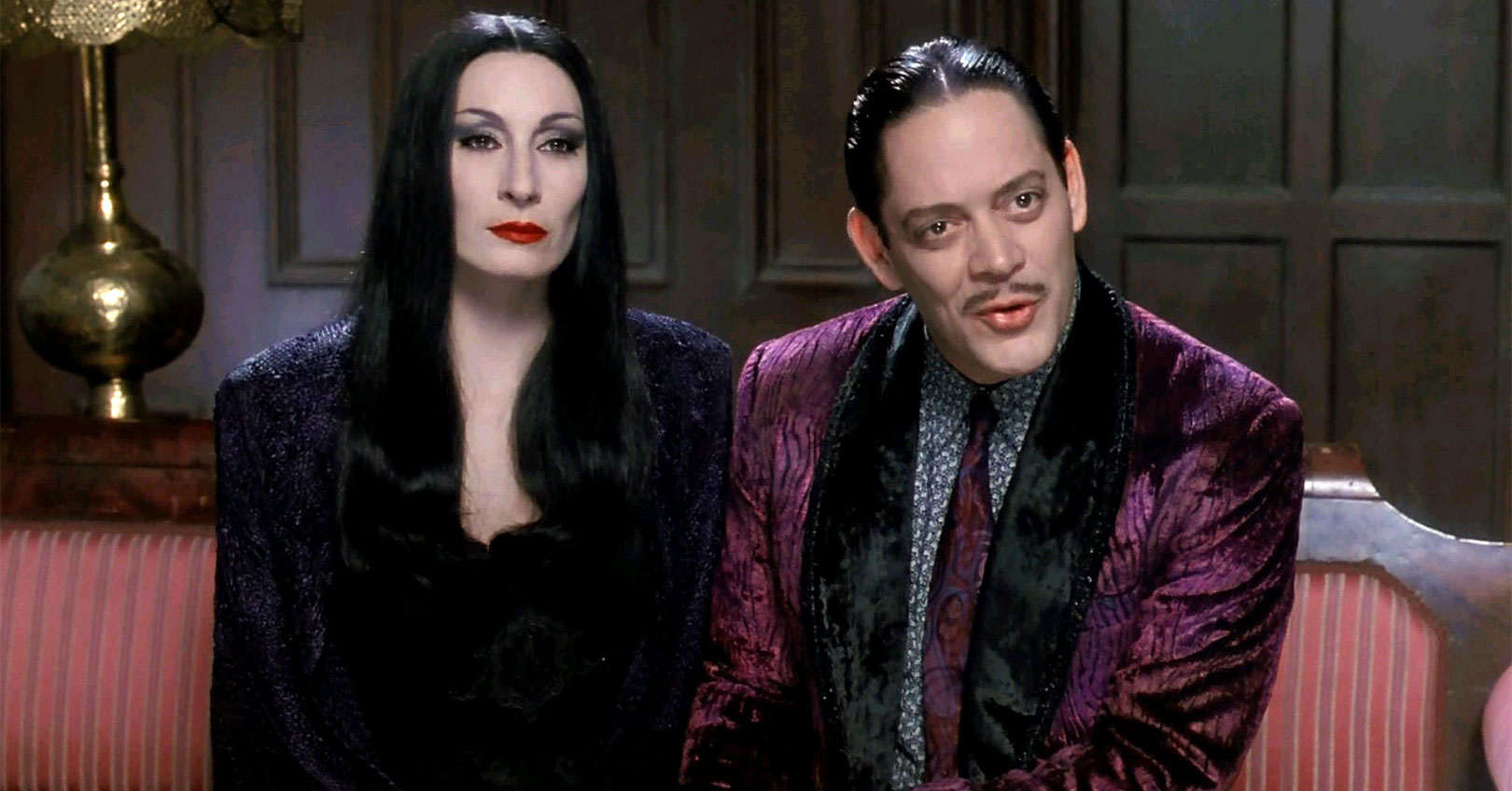 The Addams Family - Anjelica Huston and Raul Julia