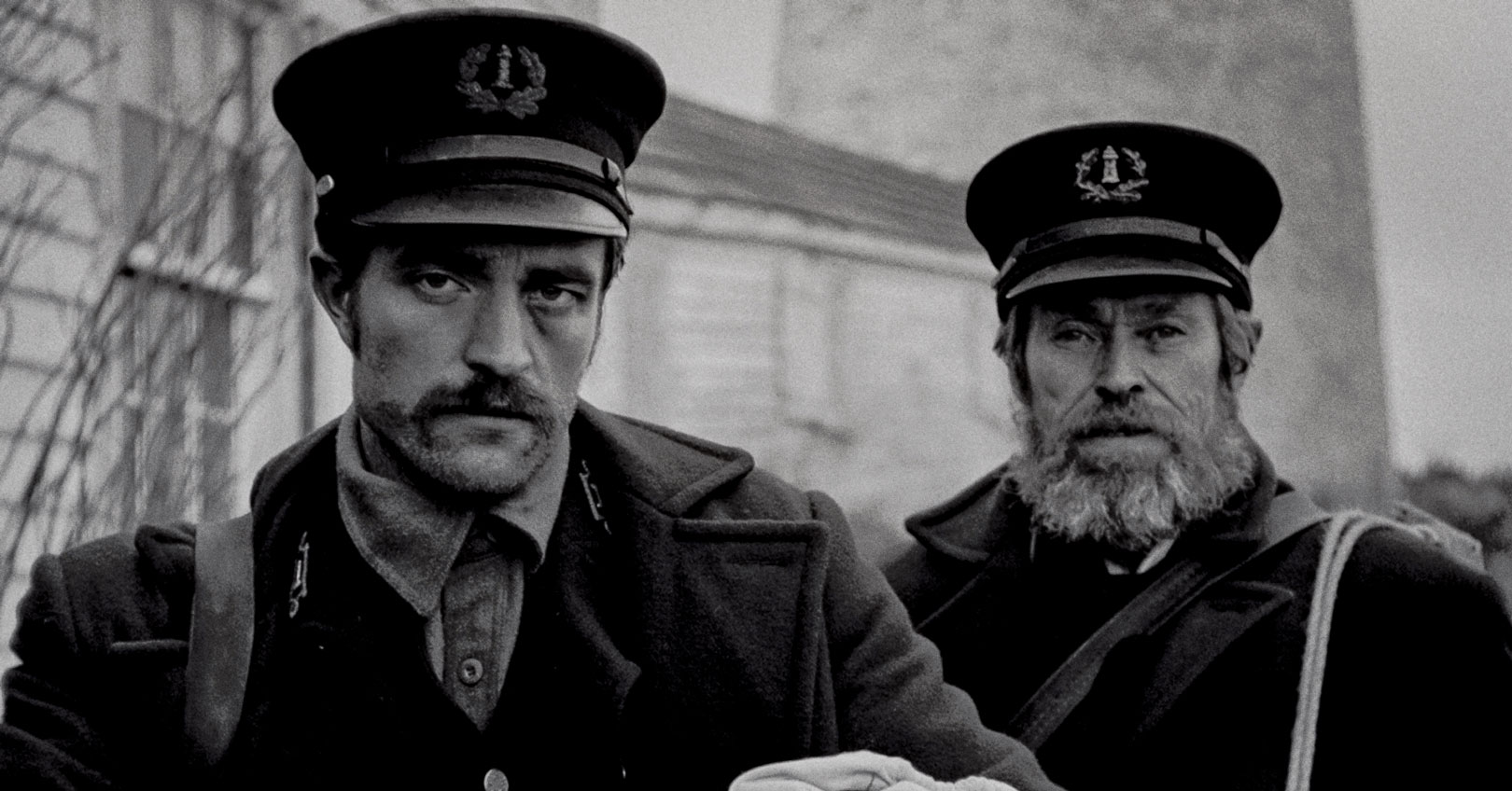 The Lighthouse - Robert Pattinson and Willem Dafoe