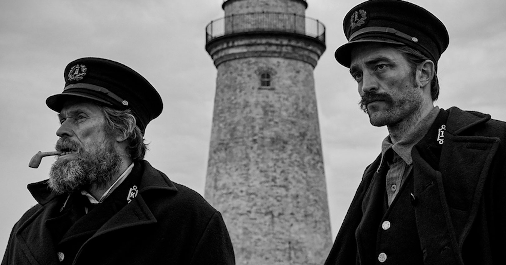 The Lighthouse - Willem Dafoe and Robert Pattinson