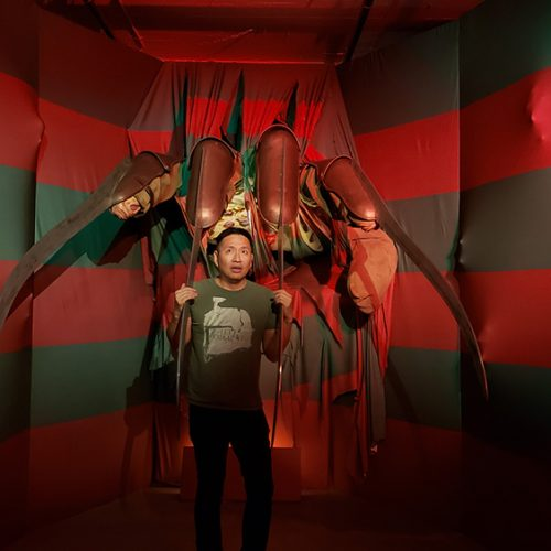 Relive your favorite horror films with I Like Scary Movies, the interactive art experience