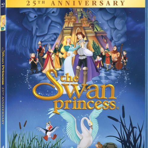 The Swan Princess 25th Anniversary Blu-ray now available