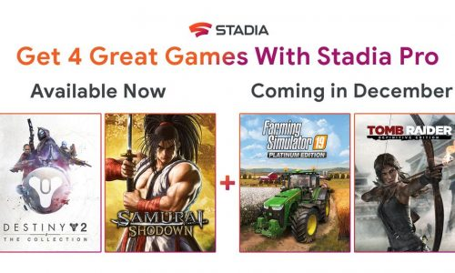 Stadia Pro free December games – Farming Simulator 19, Tomb Raider: Definitive Edition