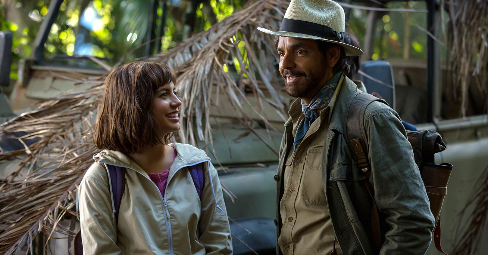 Dora and the Lost City of Gold - Isabela Moner and Eugenio Derbez
