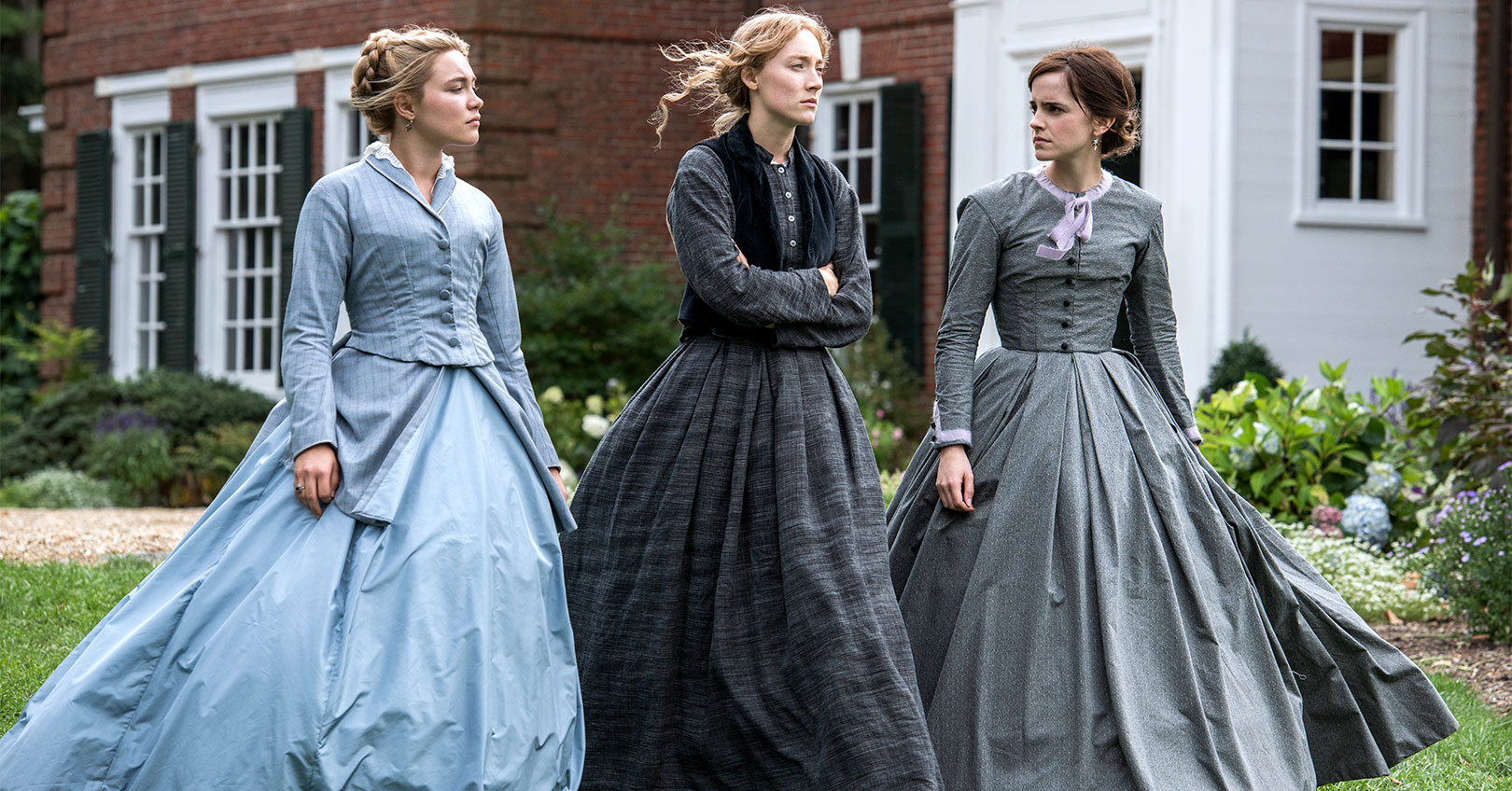 Little Women - Florence Pugh, Saoirse Ronan, and Emma Watson