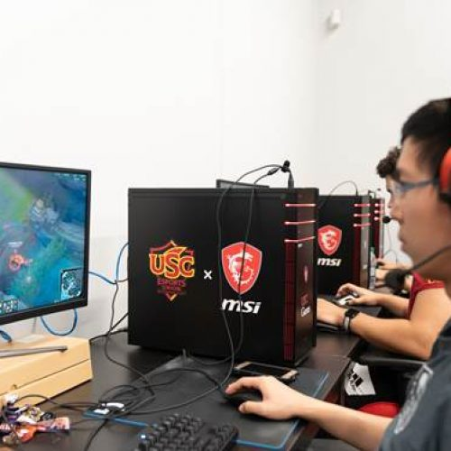 MSI partners with USC Games for new esports facility