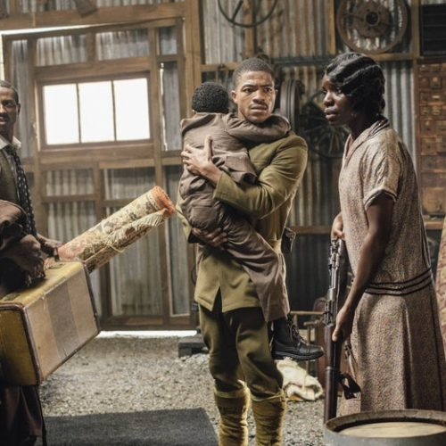 Steven Norfleet on doing the HBO's Watchmen 1921 Tulsa race riot scene: 'It was hard'