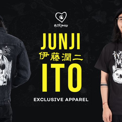 Crunchyroll Loves rolls out Junji Ito street wear collection