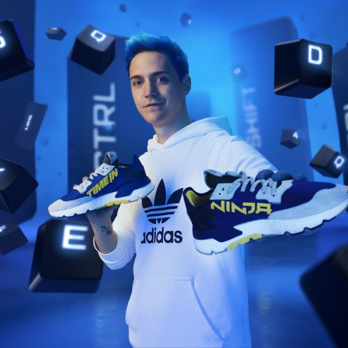 Adidas launches its first collaboration with Ninja
