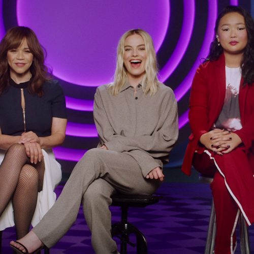 Margot Robbie and the Birds of Prey cast wish you happy holidays