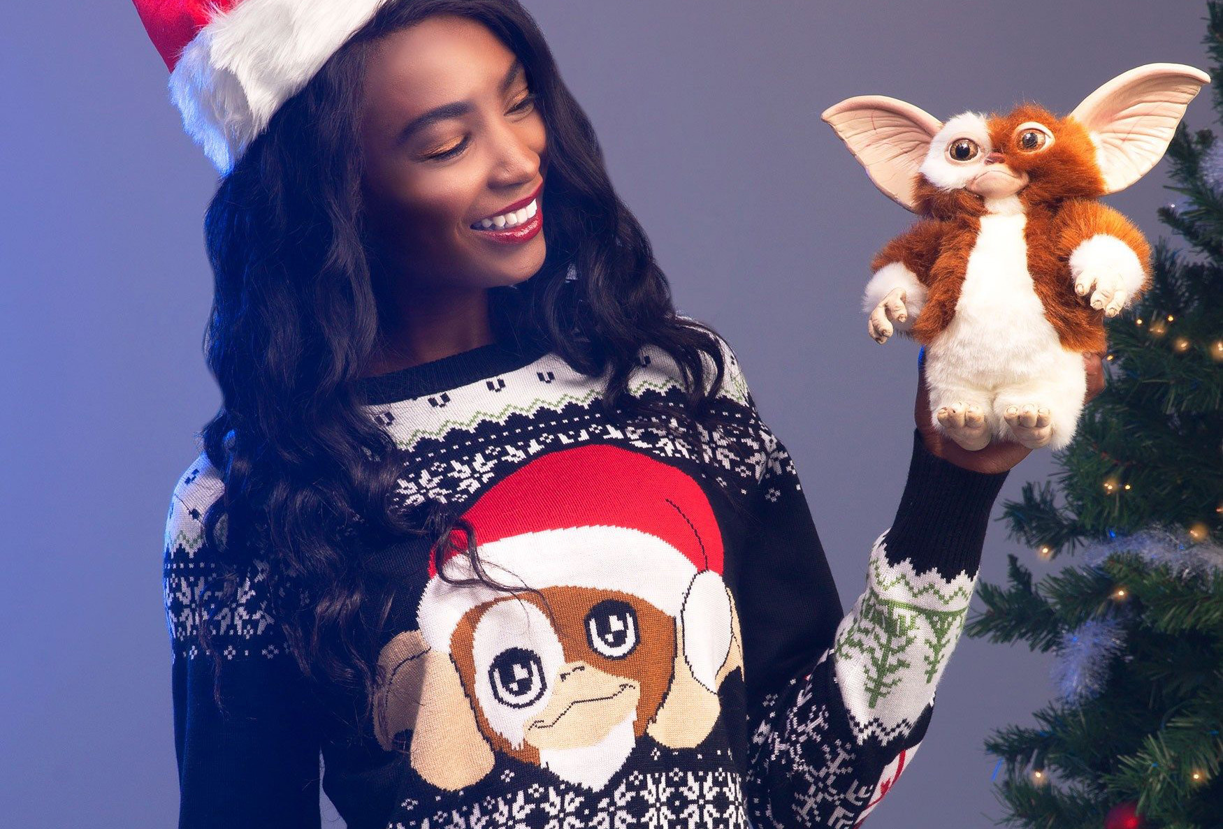 Fun.com's 2019 Ugly Christmas Sweaters Gremlins Gizmo