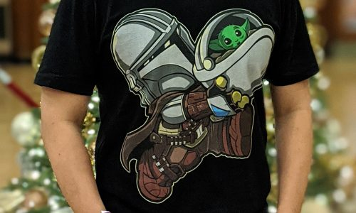 RIPT Apparel had a rare The Mandalorian and 'Baby Yoda' t-shirt