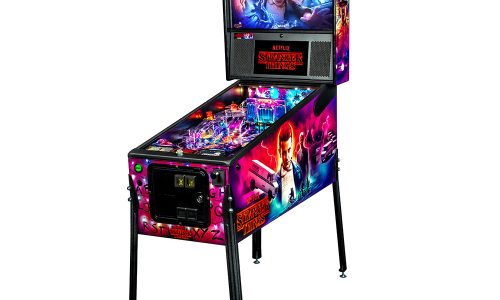 Get the Stranger Things pinball machine for as low as $6,099