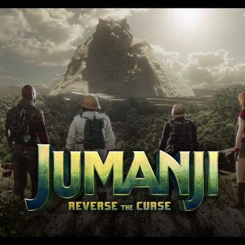 The Void's Jumanji: Reverse the Curse – Become The Rock, Kevin Hart, Jack Black or Karen Gillan