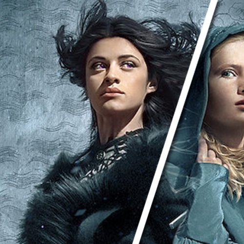 Freya Allan and Anya Chalotra on playing Ciri and Yennefer, respectively, in Netflix's The Witcher