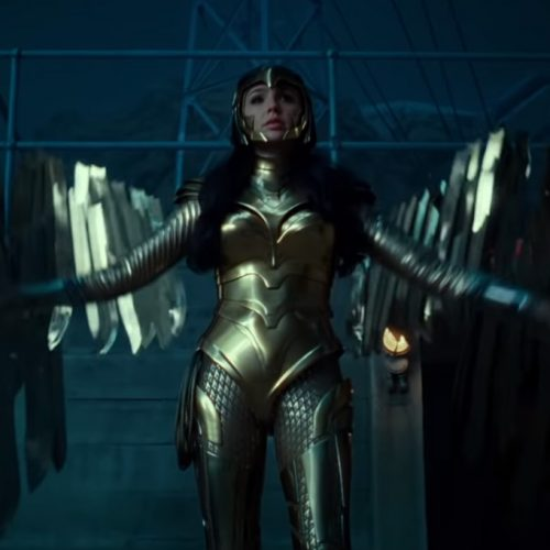 Wonder Woman 1984 trailer features glorious Golden Eagle armor with wings