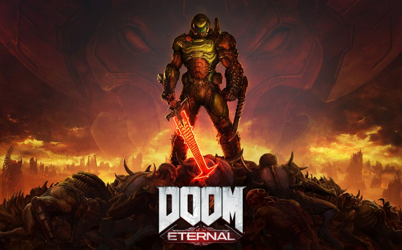 Doom Eternal Key Art