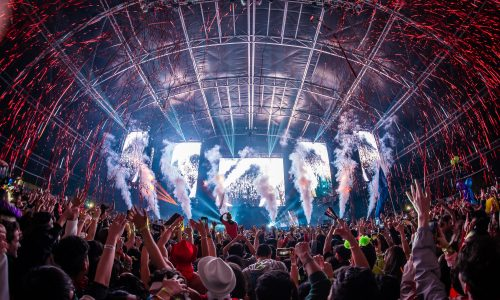 Over 67,000 EDM lovers celebrated New Year's Eve at Countdown NYE