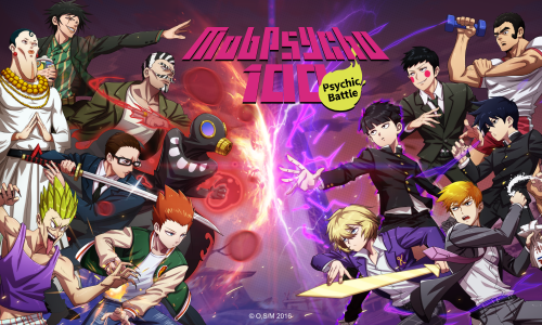 Crunchyroll Games' Mob Psycho 100: Psychic Battle now available
